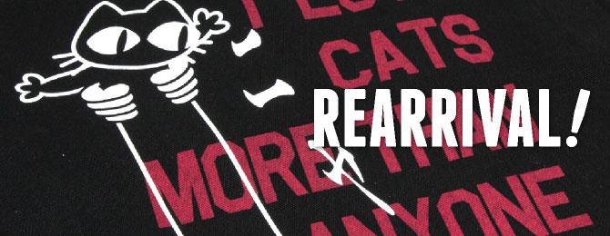 シェルパーカー「CAT LOVER」リニューアル!