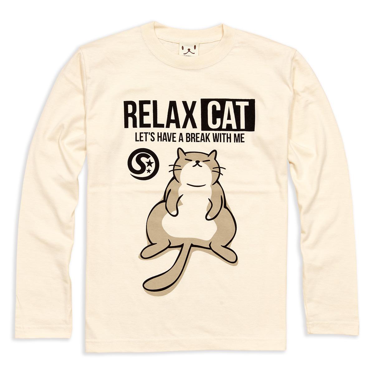 ロンT RELAX CAT ナチュラル