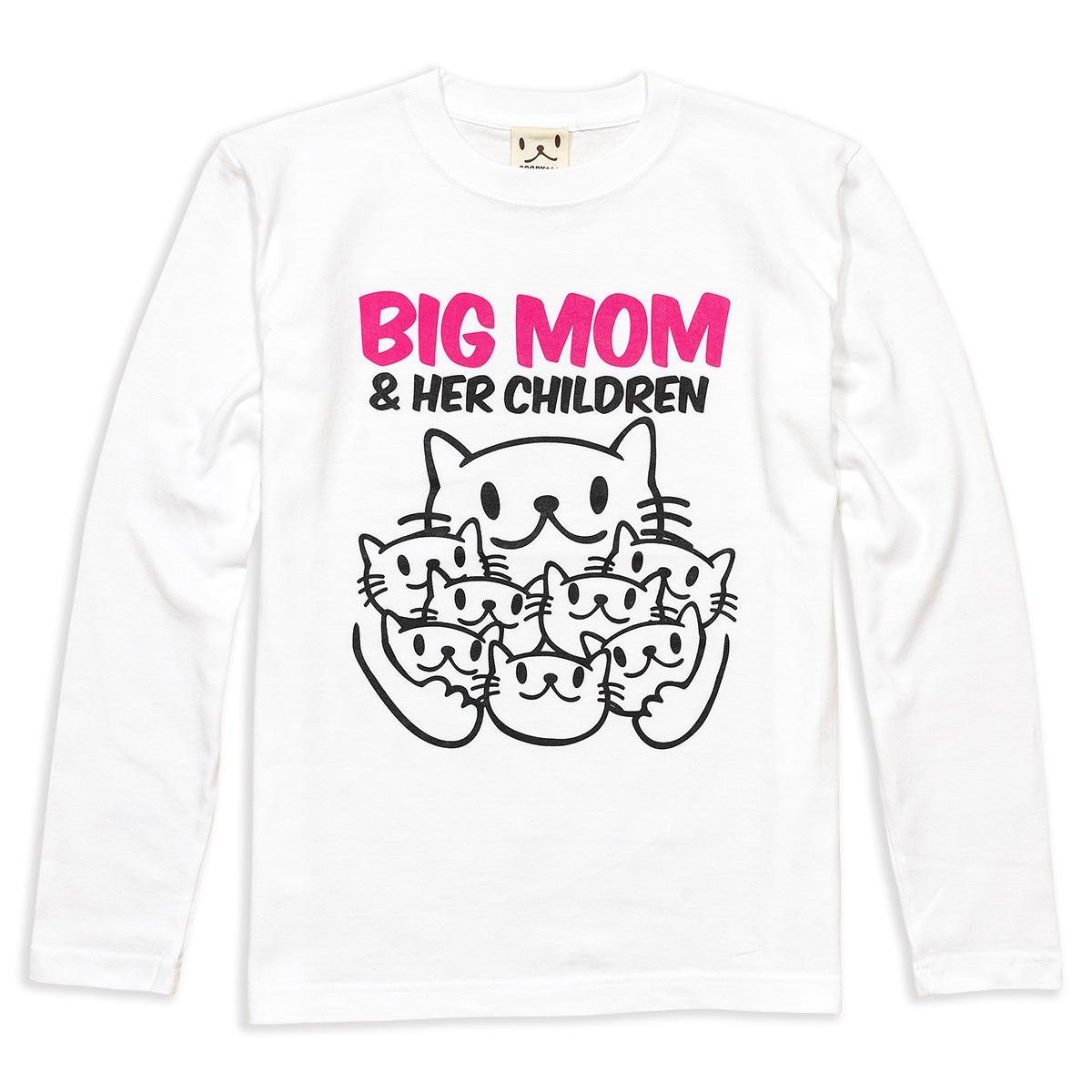 ロンT BIG MOM サンドカーキ