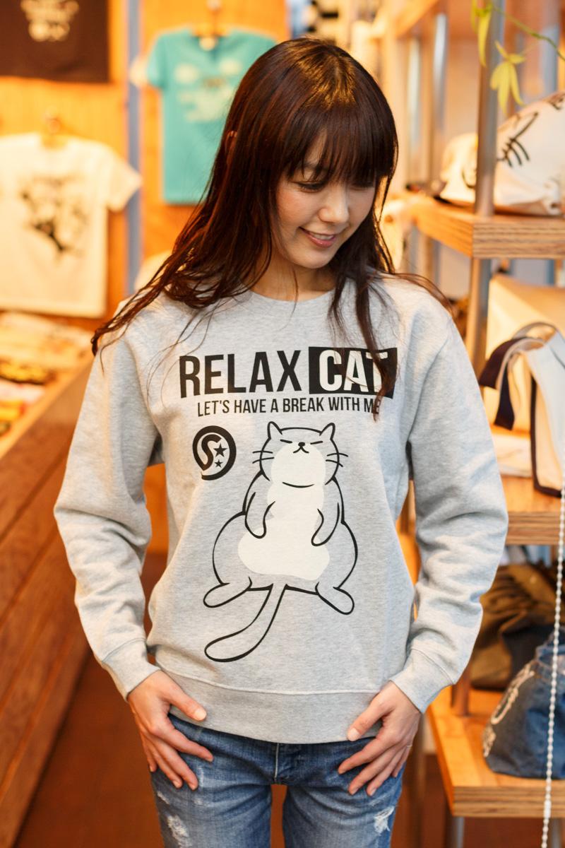 繝医Ξ繝シ繝翫�シ RELAX CAT