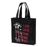トートバッグ:LOVE CAT(PK)