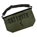 迪ォ繧ー繝�繧コ 繝。繝�繧サ繝ウ繧ク繝」繝シ繝舌ャ繧ー  CAT LOVER